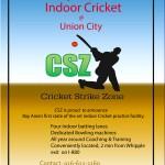 CSZ Indoor Cricket Practice