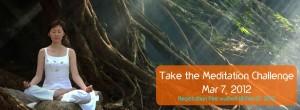 California Meditates - Challenge - Art of Living 2012