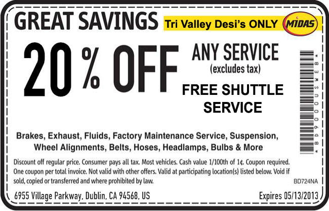Midas Dublin – $19.99 Oil Change and other deals for ...