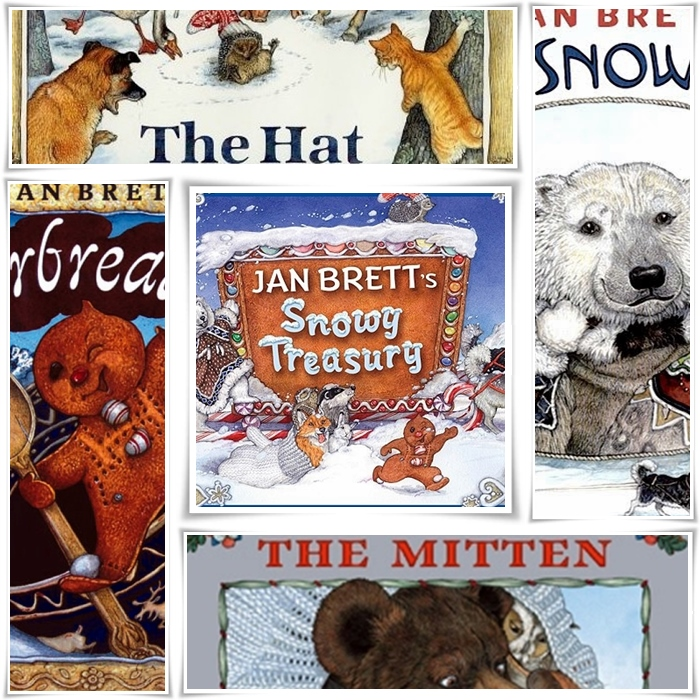 Jan Brett's Snow Treasury