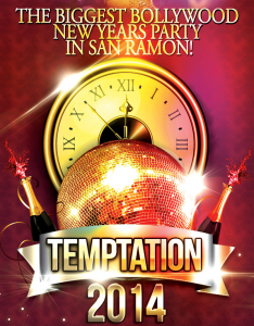 Temptation 2014 New Year Party in San Ramon, CA