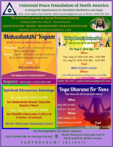 yoga and meditation pleasanton 2014 Paranjothiyar