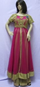 Front Slit Anarkali Suit