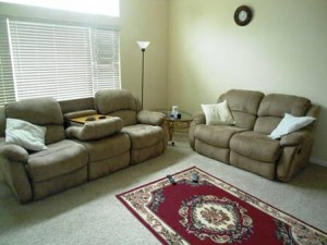 Recliner Couch Set 0