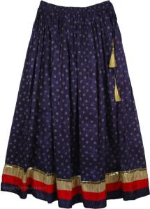 Blue Bollywood Skirt