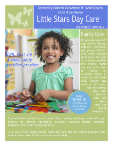 LittleDayCareFlyer