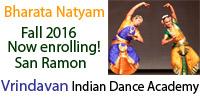Vrindavan Indian Dance Academy San Ramon