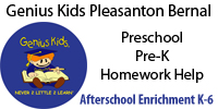 Genius Kids Pleasanton Bernal After School