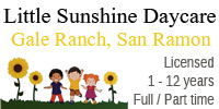 Little Sunshine Day Care Gale Ranch San Ramon