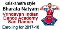 Vrindavan-Dance Academy Bharatnatyam San-Ramon