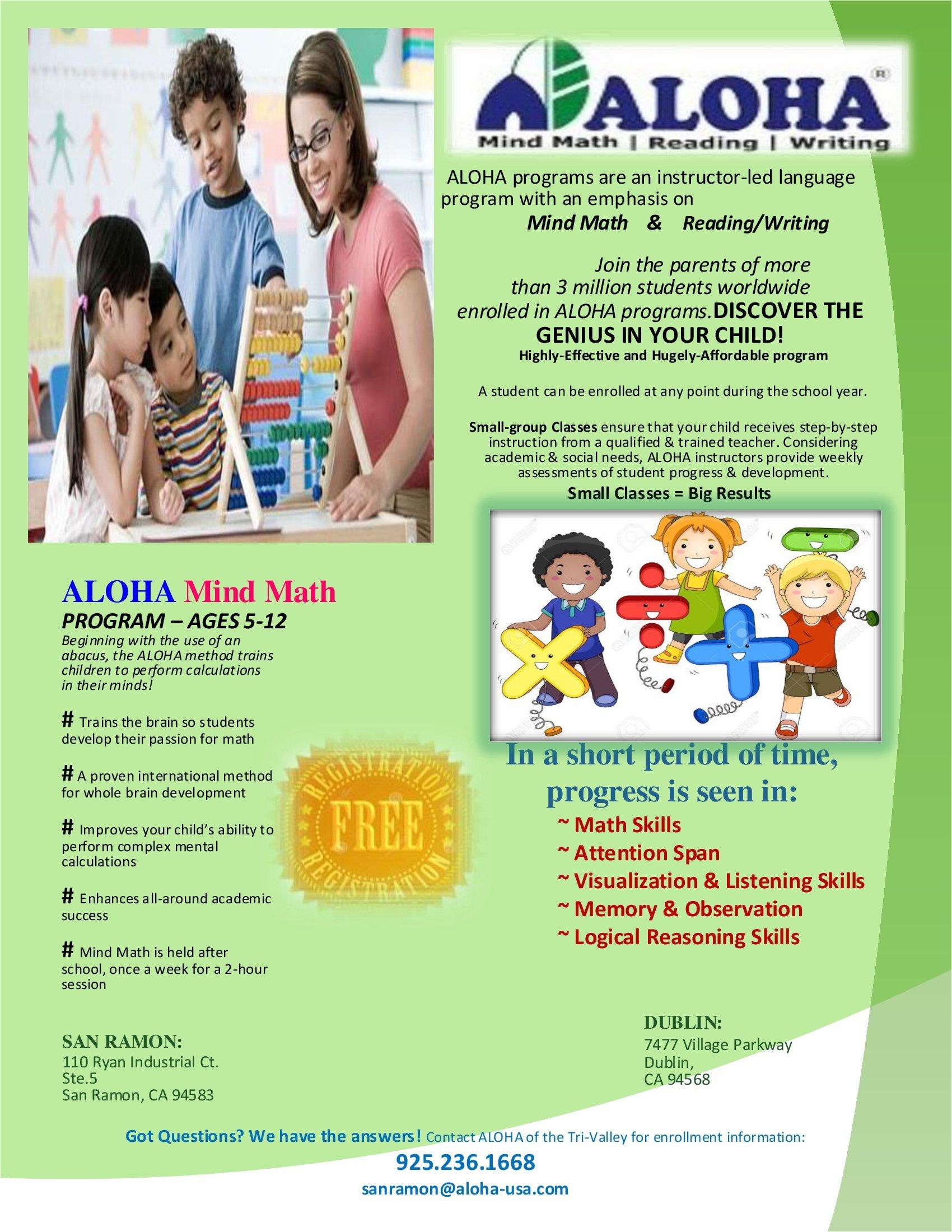 Math | Indian desis in San Ramon, Dublin, Pleasanton, Livermore ...