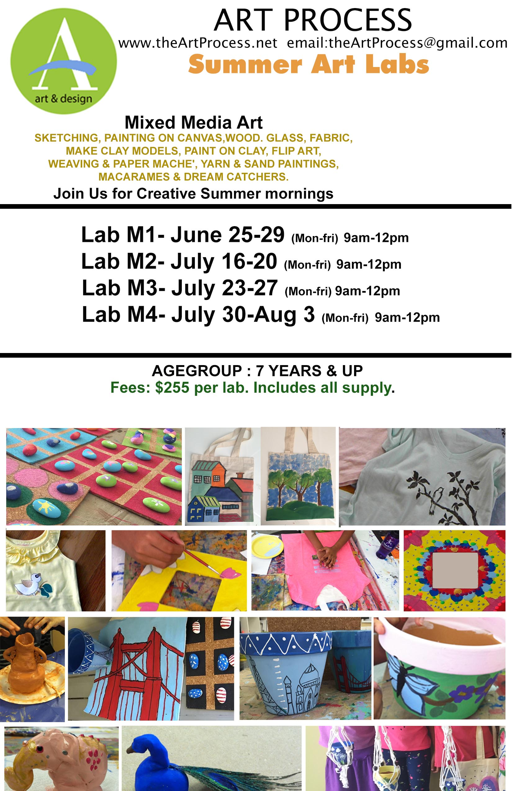 Art Classes For Kids Pleasanton