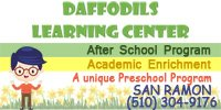Daffodills After School San Ramon CA
