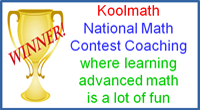Koolmath Math Competition Tutoring
