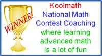 Koolmath Math Competition Tutoring