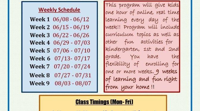 Learn & Fun Summer Classes