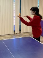 Table Tennis Forehand Service Practice